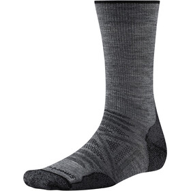 Smartwool PhD Outdoor Light Crew Socks medium gray